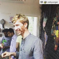Happy Birthday @collabhouse   #Repost @cobyunger with @repostapp ・・・ They covered my face in cake right before a video shoot....