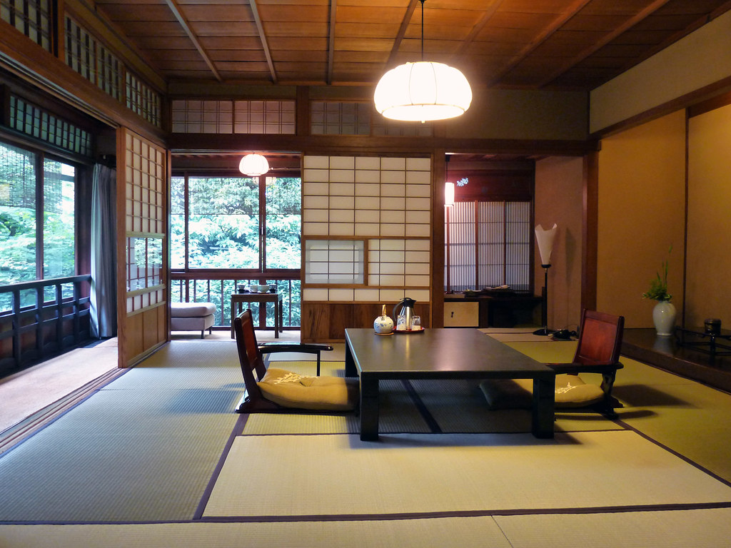 Japan Room Design Ryokan L 39auberge Traditionnelle Japonaise Dozodomo