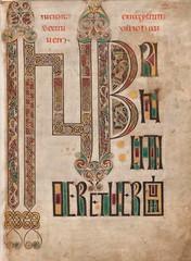 Northumbrian Gospels -- John