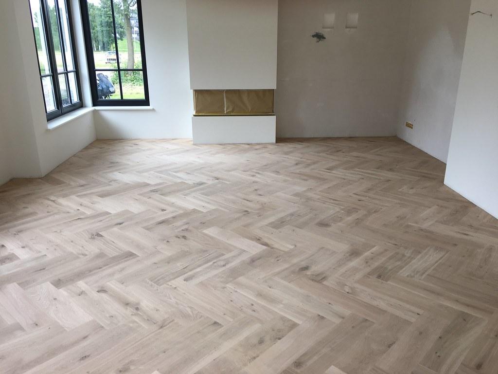 Visgraat Parket Leggen : Visgraat vloer eiken parketloods voor al uw houten vloeren