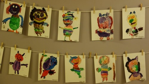 Where The Wild Things Are... Kindergarten
