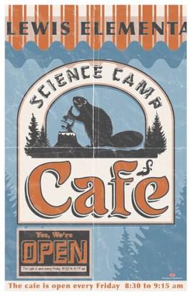 Science Camp Cafe Sign