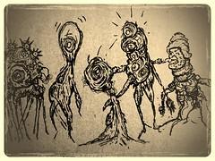 Cardboard doodle #3719