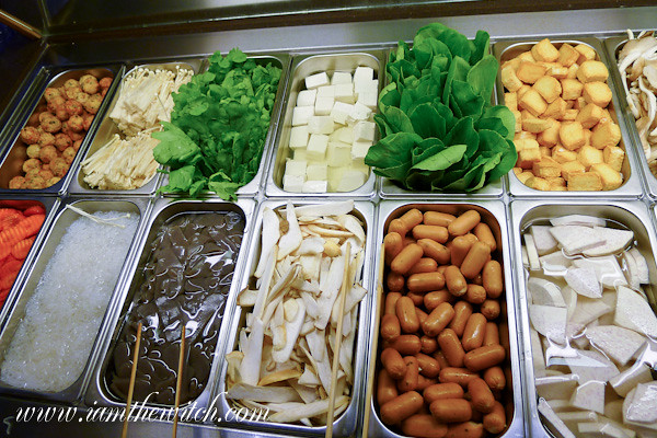 Sukiya vegetables