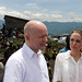 The Foreign Secretary and Angelina Jolie visit Nzolo camp