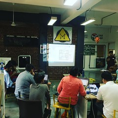 @adskfusion360 CAD session in progress! Rapid prototyping course