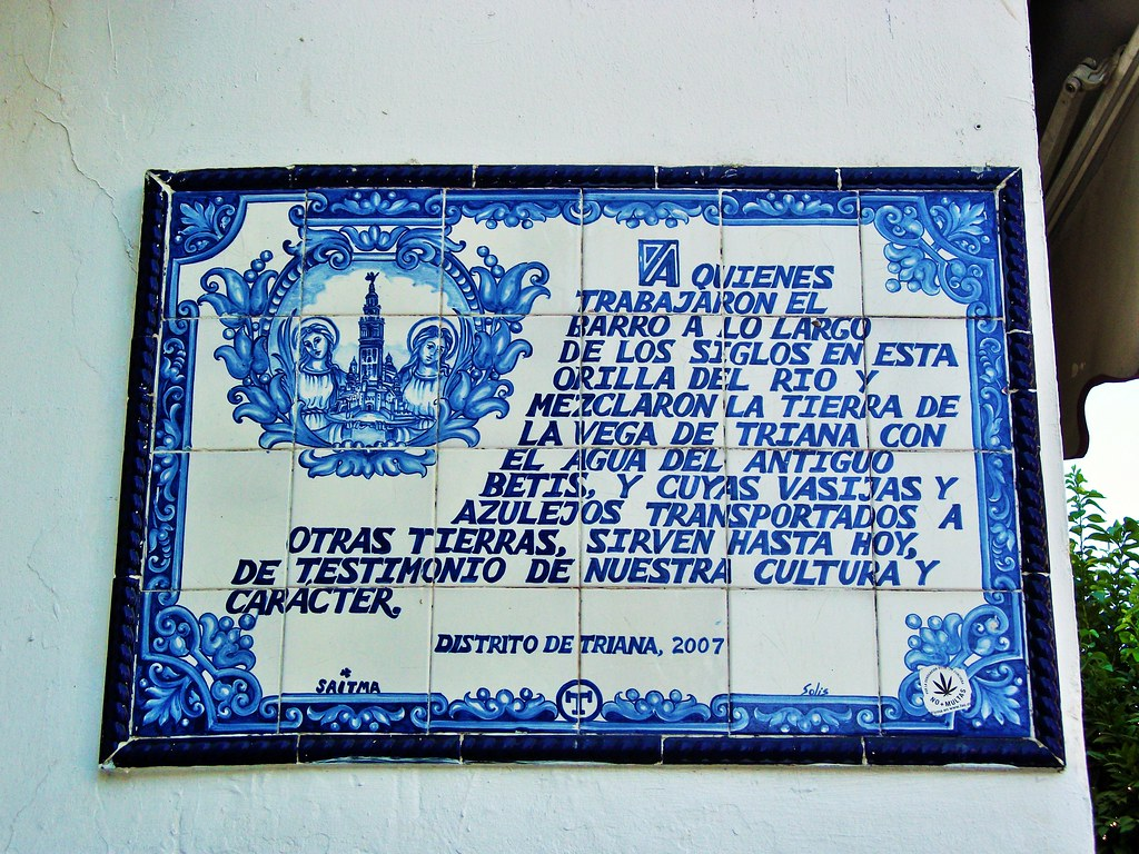 Azulejos Sevillanos Antiguos The World S Most Recently Posted Photos Of Azulejos And Triana