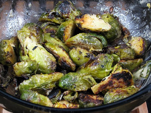 ... Is Better Grilled! — Grilled Crispy Mustard Brussels Sprouts