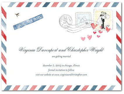Sample Save The Date Cards For A Destination Wedding \u2014 GroupTravelorg