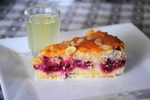 Buttermilk Raspberry Cake and Lemoncello