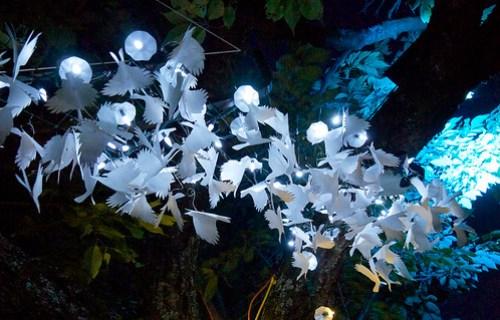 Illuminares 2012- Illuminated crows