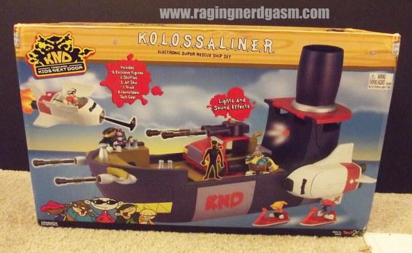KND_Code Kids Next Door_KOLOSSALINER_ship and figures_01