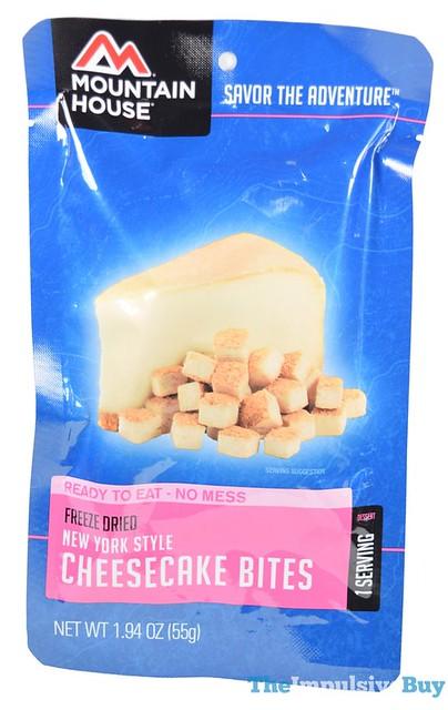 Mountain House Freeze Dried New York Style Cheesecake Bites