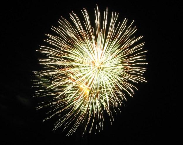 Lake Grapevine Fireworks 2012