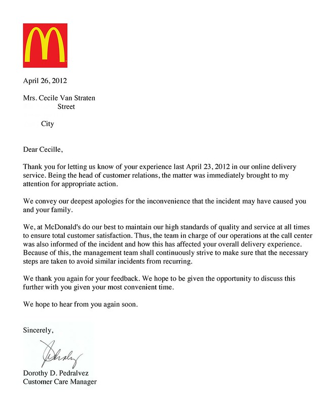 How To Write A Reference Letter 13 Steps With Pictures I Finally Heard From Mcdo Chuvaness