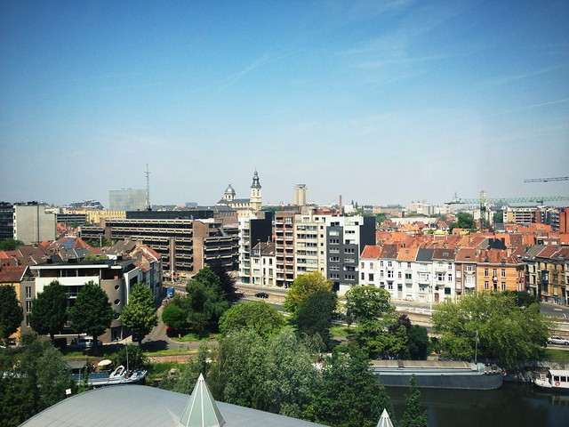 View from my Office Window in Gent Belgium