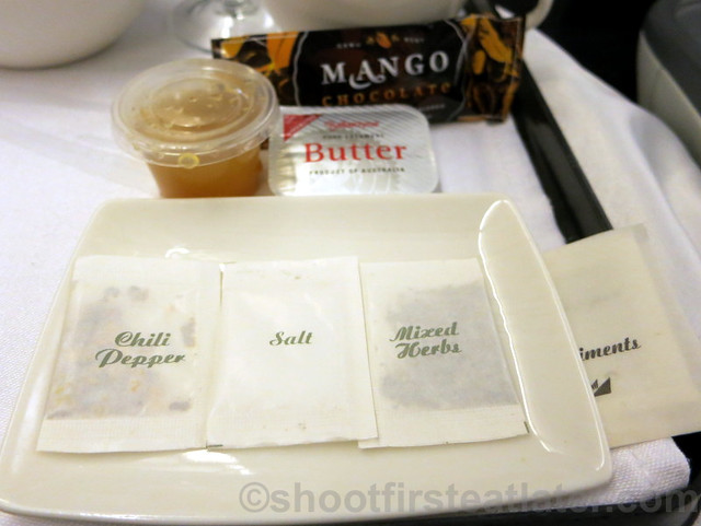 Philippine Airlines Business Class meal Mnl-Hkg-Mnl-015