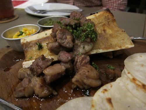 Bone marrow steak!