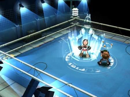 Juego de lucha y peleas en ring