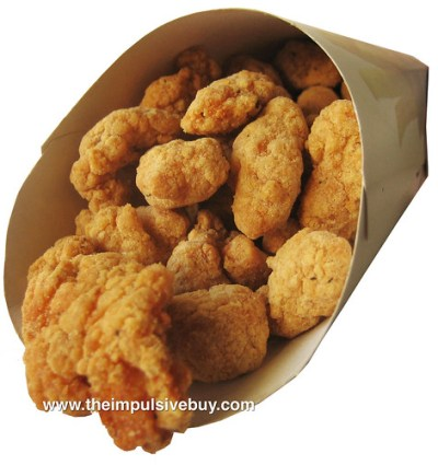 Burger King Popcorn Chicken