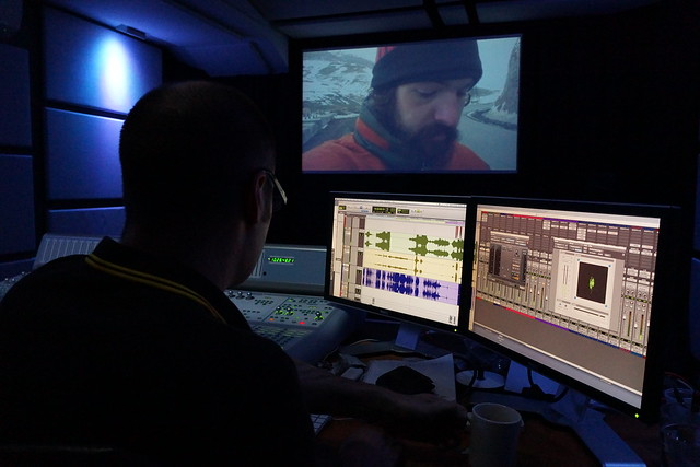 Sound mix at Ealing 1