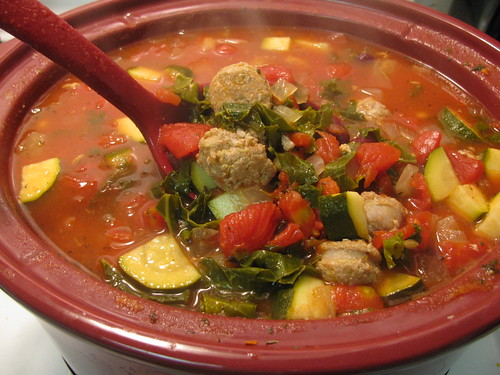 Slow Cooker Italian Vegetable Soup