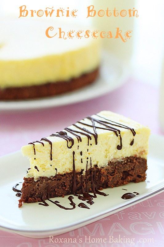 Brownie Bottom Cheesecake Cream Cheese Brownie Bottom Cheesecake From