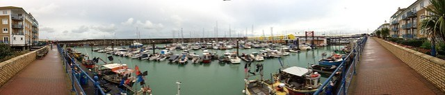 Brighton Marina panorama