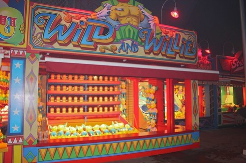 The Simpsons Ride Midway Carnival Games