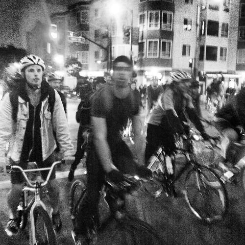 Earlier #criticalmass Valencia to Dolores park #sfcm20 #cm20 #cmsf20