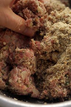 meatball mixture