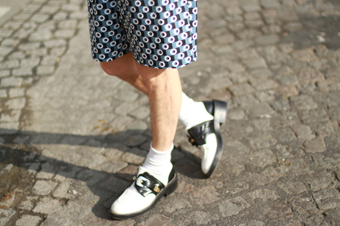 Marni x h&m collection, shoes from Balenciaga and Acne sunnies 5