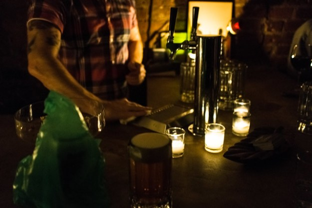 At the Immigrant: last call for blackout beer