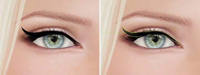 mesh eyeliner