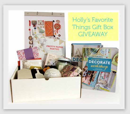 Holly's Favorite Things Gift Box Giveaway