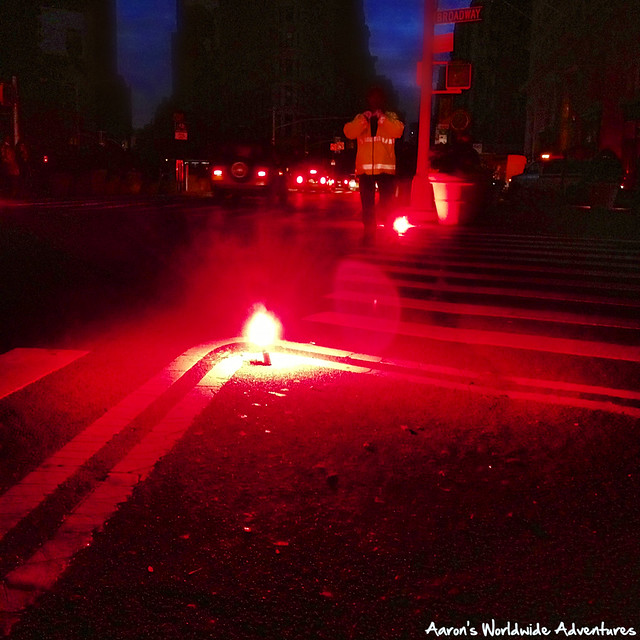 Crosswalk Flares