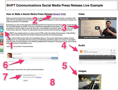 Social Media Press Release 20 - SHIFT Communications PR Agency