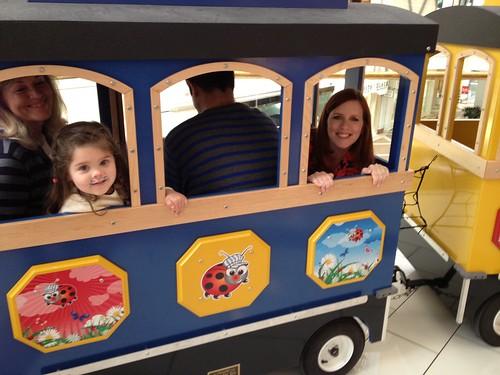 all aboard the choo choo train