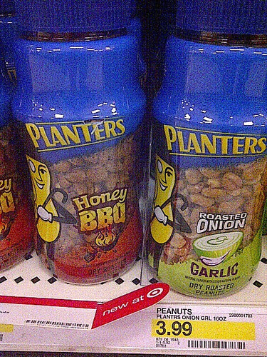 Planters New Peanuts