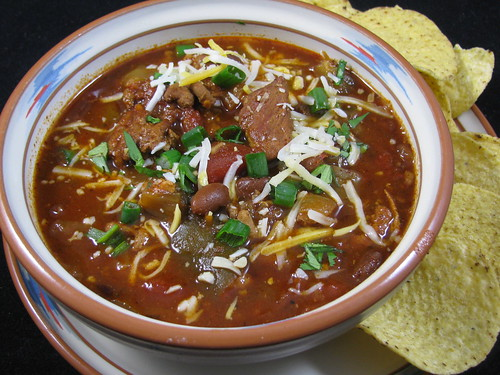 Spicy Smoky Slow Cooker Pork Chili