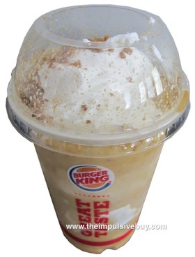 Burger King Gingerbread Cookie Shake