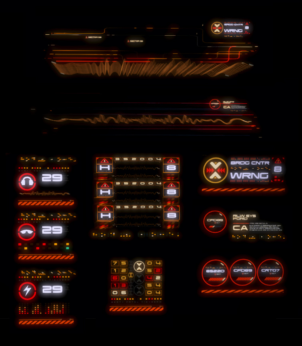 Mass Effect 3 - Omega UI by Eric Bellefeuille