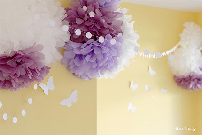 Cumpleaños de mariposas
