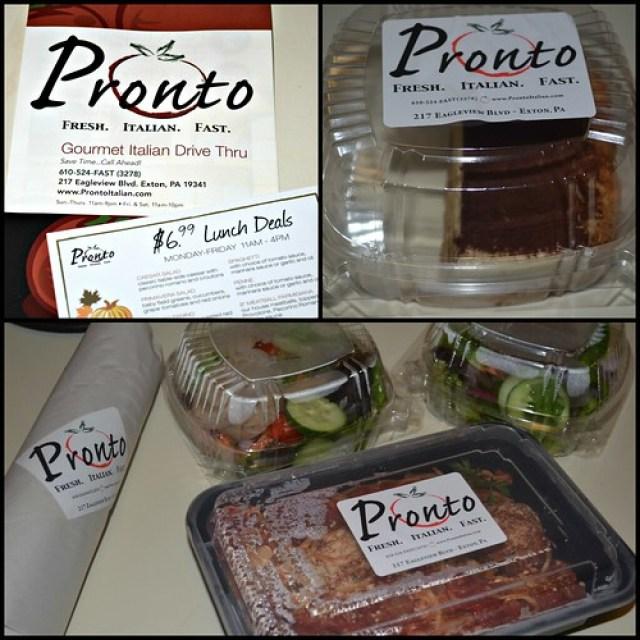Pronto food