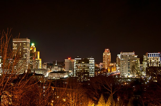Providence Nightscape
