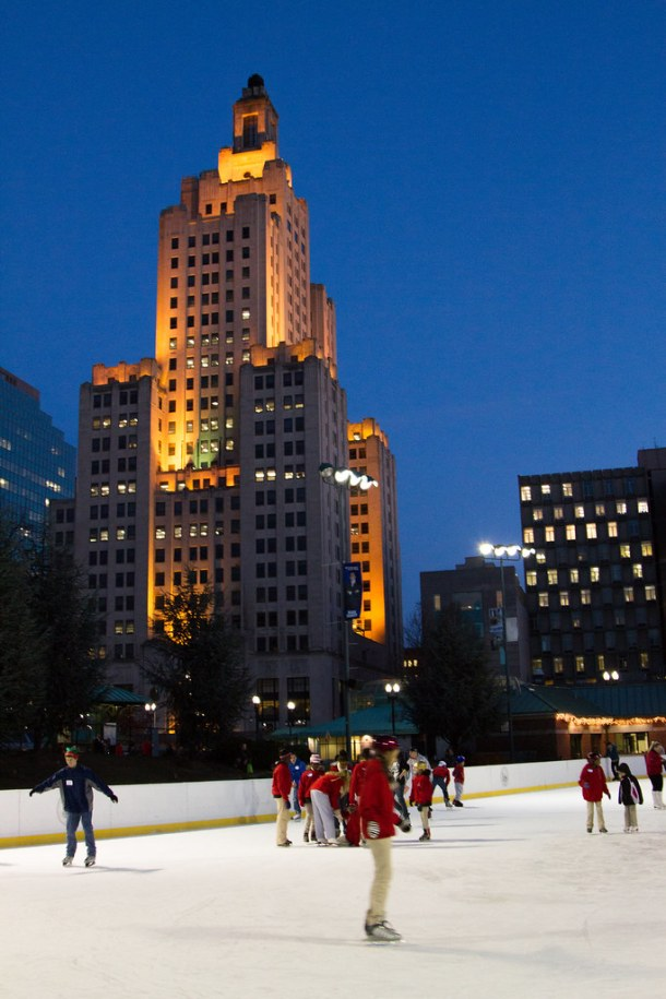 Bank of America Ice Skating