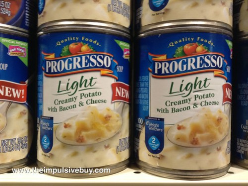 Progresso Light Creamy Potato with Bacon & Cheese