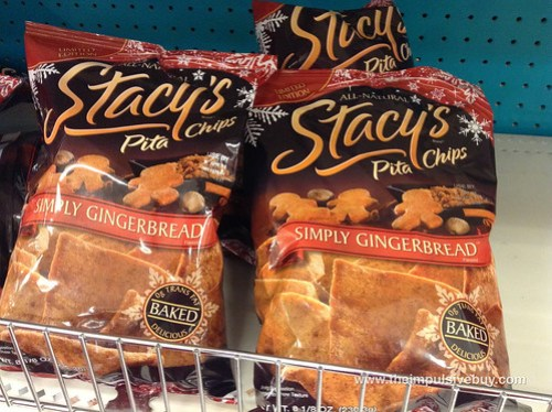 Limited Edition Stacy's Pita Chips Simple Gingerbread