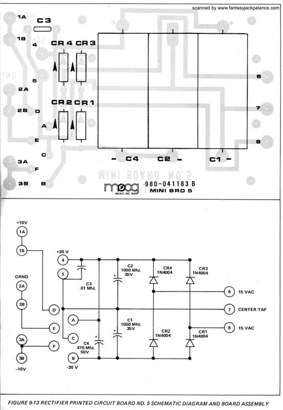 minimoog voyager schematics