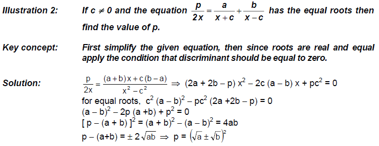 CBSE Class 11 Maths Notes: Quadratic Equations   Introduction